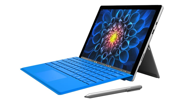 Microsoft Surface Pro 4 incl. Blauw Keyboard