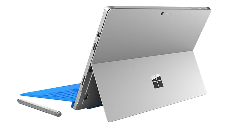 2-in1 Tablet Microsoft Surface Pro 4 Achterkant