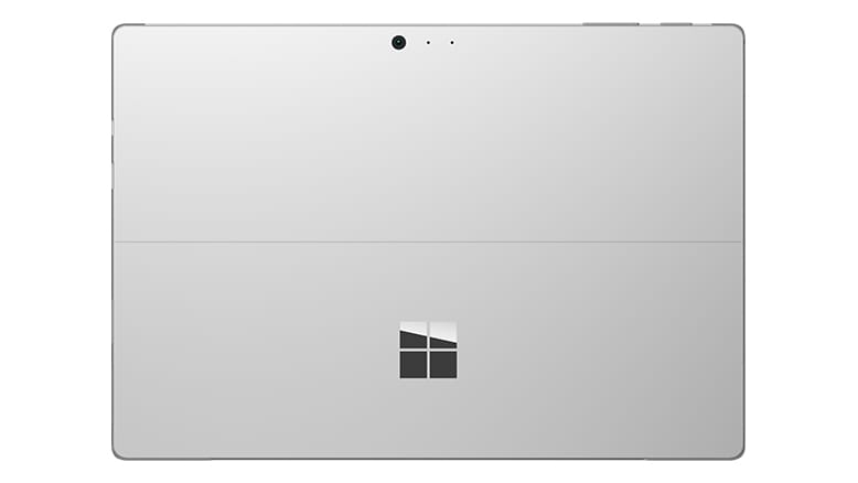 2-in1 Tablet Microsoft Surface Pro 4 Tablet Achterkant